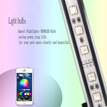 39CM Marine Aquarium LED Lighting Fish Tank RGB Lampe Light For Lamp Marin Waterproof With Remote Control