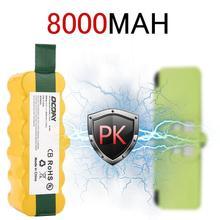 14,4 В 8000 мАч Ni-MH пыль Чистящая кисть перезаряжаемый аккумулятор подходит для Irobot робота-пылесос очиститель деталей крепления