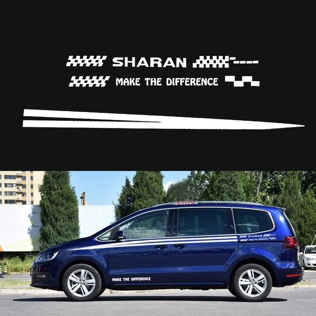 For Volkswagen Vw Sharan For Hatchback Sedan Suv Car Side Body Decal
