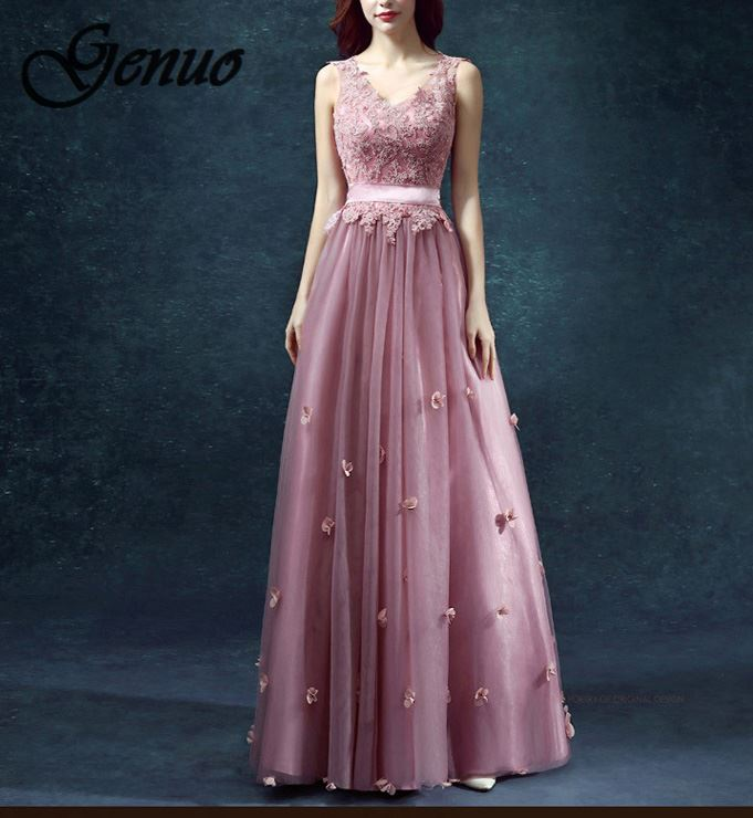 Spring summer womanV Neck long dress bohemian style slim vestidos vintage three quarter sleeveless casual dress