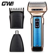 GW - 1007 3-In-1 Rechargeable/Electric Men Shaver