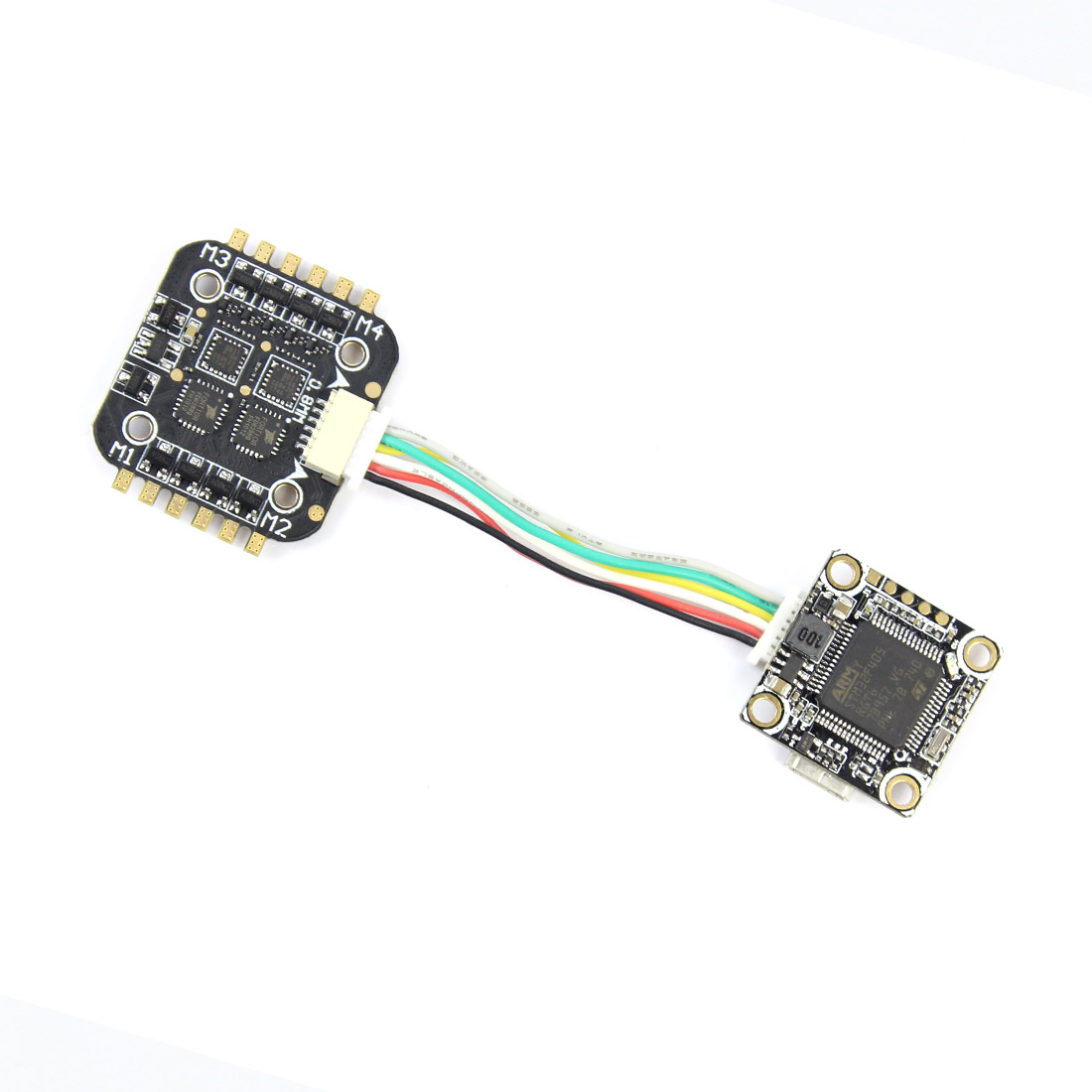 Placa de Controlador de Vôo OSD embutido Betaflight F4 Super_S Blheli_S 4in1 2 S para o Interior Brushless ESC Zangão FPV DIY Corrida f21370