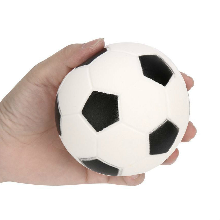 2018 NEW Squeeze Football Squishy Slow Rising Funny Gadget Anti Stress Novelty Antistress Toy Brithday Gift Phone Straps Clear