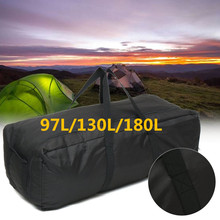 Outdoor Camping Travel Large Duffle Bags Waterproof Oxford Foldable Lug