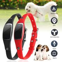 Dog Cat Collar GPS Tracker GSM Tracking Device Mini Waterproof Pet ID Locator WIFI Real Time For Dog Cat Track Device