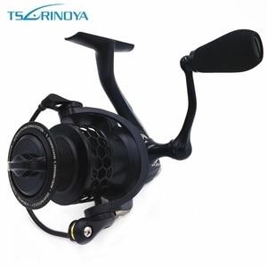 Tsurinoya Saltwater Spinning Fishing Reel 9BB Speed Ratio 5.2:1 NA 2000 3000 4000 5000 Aluminum Spool Carp Fishing Reel