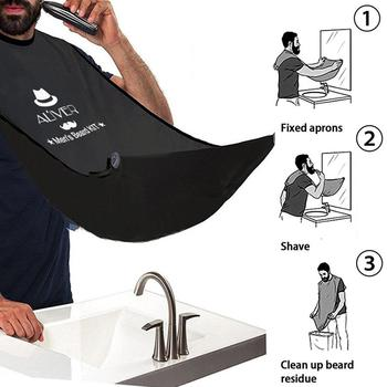 XY Fancy 7 Pcs/set Men Beard Care Suit Beard Comb Pig Bristle Brush Growth Cream Oil Beard Styling Care Cleaning Kit 3
