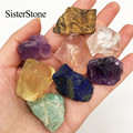 8 шт. необработанные драгоценные камни и минералы из натурального кварца, Исцеляющие необработанные камни в качестве подарка