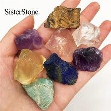 8 adet doğal kuvars kristal kaba taşlar ve mineraller şifa ham taşlar hediyeler olarak