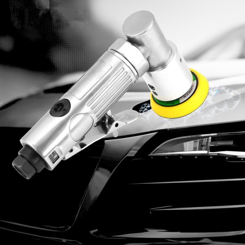 Car Polisher Air Polisher Orbital Sander Polishing Machine Pneumatic Grinding Tool Car Waxing Machine Car Polish 15000 Rpm