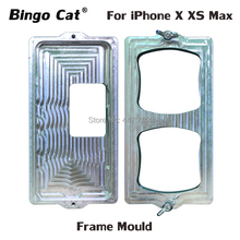 Bingo Cat Aluminium Screw Frame Mould for iPhone X XS Max Glass Cold Glue Holding Mold Screen Dedicated