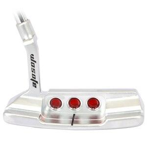 Image 2 - 2019 neue stahl welle rechtshänder gesendet kopf abdeckung runner griffe golf club putter