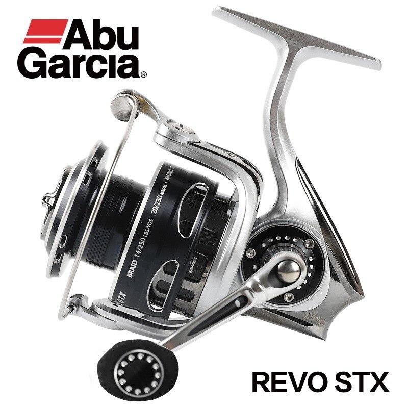 100% Original brand  Abu Garcia REVO STX 1000-4000 Spinning Fishing Reel 9+1bb Im-c6 Carbon Rotor Saltwater Lure Fishing Reel