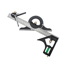 3 In1 Adjustable Ruler Multi Combination Square Angle Finder Protractor 300mm Measuring Set Tools Universal Ruler Right Angle