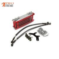 50cc 70cc 90cc 110cc 125cc 140cc 150cc refires off road motorcycle oil cooler radiator dirt pit atv For zongshen lifan monkey