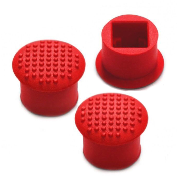 3x ThinkPad Laptop TrackPoint Red Cap Collection For IBM/Lenovo ThinkPad