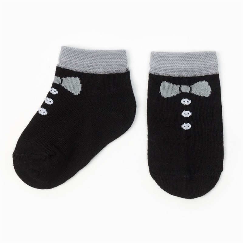 Socks Crumb I Tuxedo, black socks crumb i biker black