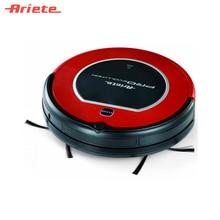 Робот-пылесос Ariete 2713 Evolution, компактный, не оставляет пыль в углах, автономная работа от аккумулятора в течение 90 минут, контейнер для пыли 0,5 литра
