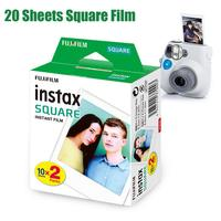20 Sheets/Packs Fuji Fujifilm Instax Mini Films White Edge Films Photo Paper For Instant SQ10 SQ6 Camera SP 3 Printer