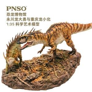 Image 1 - PNSO ChungKingosaurus Yangchuanosaurus dinozor modelleri müze koleksiyonu 1:35