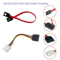 """5 3 SATA/PATA/IDE To USB 2.0 Adapter Converter Cable For Hard Drive Disk 2.5"""" 3.5"""" R20 (3)"""