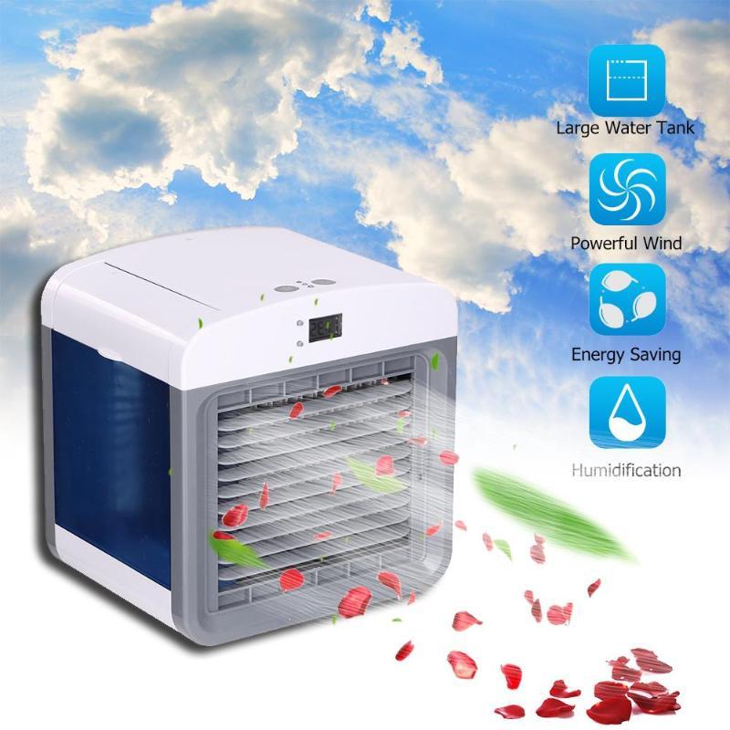 300 ml USB Mini Portable climatiseur humidificateur purificateur d'air ventilateur de refroidissement 3 vitesses réglable refroidisseur d'air ventilateur pour bureau maison