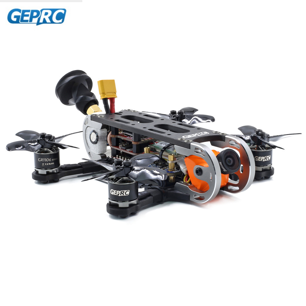 Geprc GEP-CX Cygnet 115mm 2 pouce RC FPV Racing Drone Stable F4 20A 48CH RunCam Split Mini 2 1080 p HD