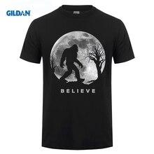 GILDAN Bigfoot T-shirt Bigfoot Sasquatch Full moon Yeti Funny Shirt airhole маска airhole standard sasquatch