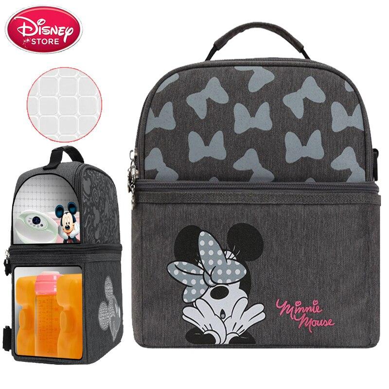 Brand Disney Bag Materna Thermal Insulation Capacity Travel Bottle Diaper Backpack Baby Handbag