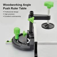 Woodworking DIY Carpenter Tool Accessories Miter Gauge Kit With Adjustable Flip Stop Angle Table Saw Pusher