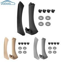 Внутренняя панель передней двери ручка Pull Trim + обложка для BMW E90 E91 3 серии интерьер автомобиля аксессуары