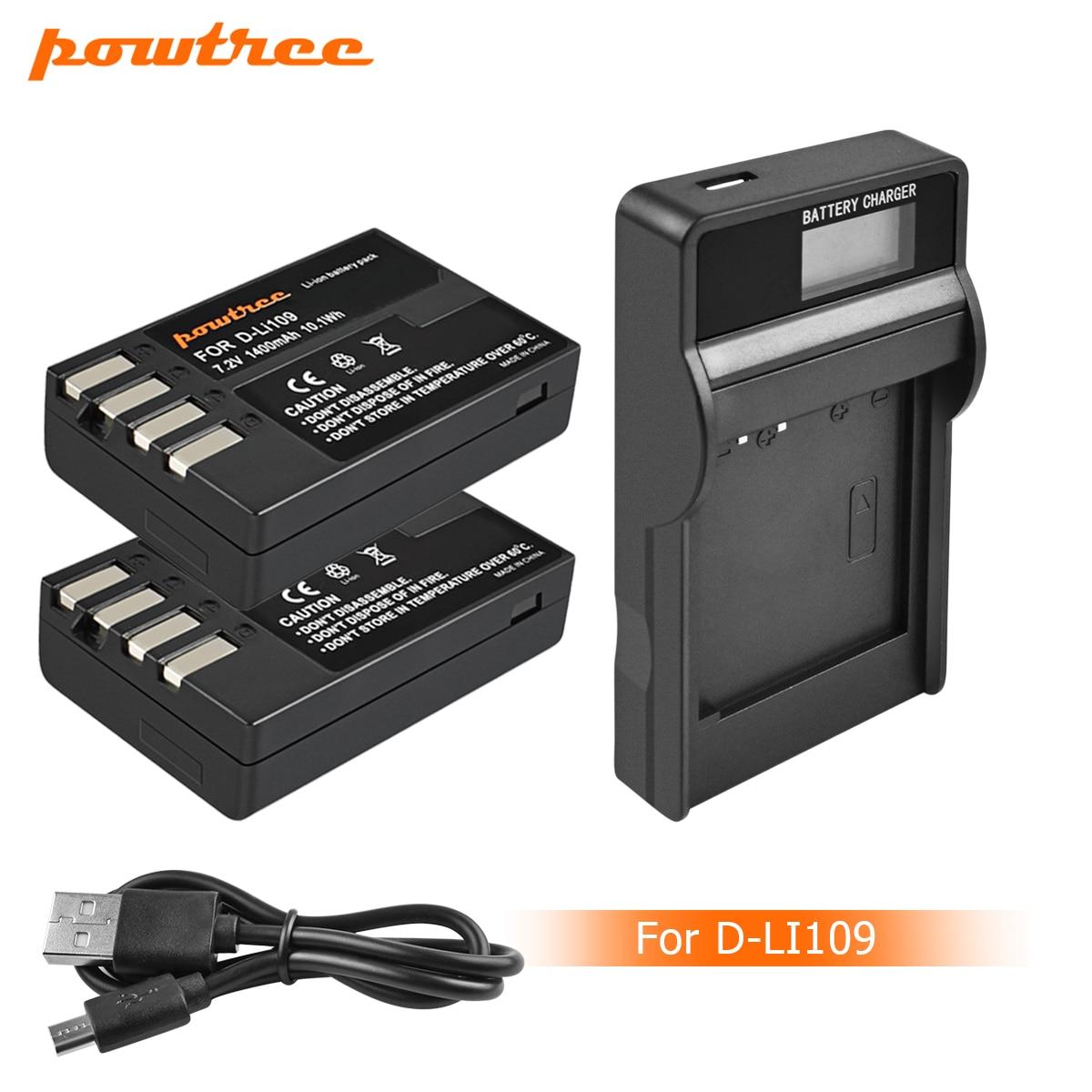 USB K S1 D Li109 für Pentax K 30 K 50 K S2 Akku Ladegerät K r