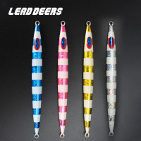 Leaddeers High Quality Fast Fishing Bait Lure Lead Fish Metal Jigs 150 200 300g Saltwater Fishing Lure Deep Sea Iron Plate Bait