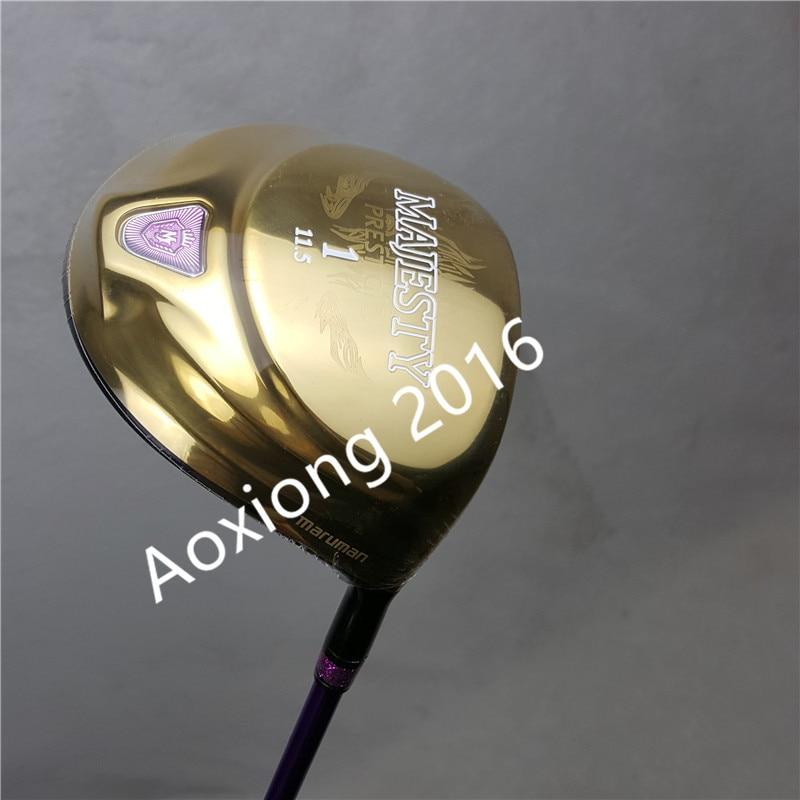 жаночыя Гольфы-клубы Majesty Prestigio кіроўца 9 Golf 11,5 лофта кіроўца клубы з графітам Golf вала L гнуткай Бясплатнай дастаўкай