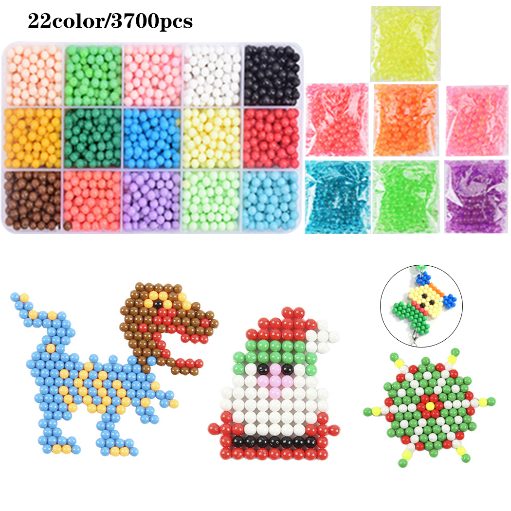 Fuse Bead Creative Craft DIY Water Mist Magic Bead Kit Sticky Bead Beed Toy Spray Bead For Kid