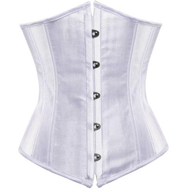 women corset bride abdomen with sexy bustier waist belt belt corsets dress bustier underbust slimming top underwear black red in Bustiers Corsets from Underwear Sleepwears