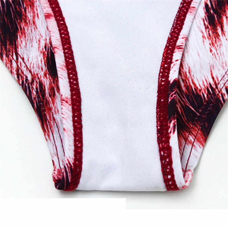 Mode femmes vêtements Polyester géométrie décontracté sexy maillot de bain Push Up dames maillot de bain bikini maillot de bain une pièce Monokini
