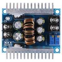 Convertidor dc-dc 20A 300W paso arriba abajo Buck potencia de impulso ajustable placa del cargador módulo 24 V a 12 V convertidor