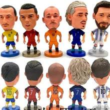 Europa Super Hot Voetbal Star Player Action Figure Voetbal Model Speelgoed Pop Messi C Ronaldo Neymar Pogba CA(China)