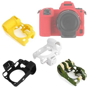 Top Texture Design Rubber Silicon Case Body Cover Protector Frame Skin for Nikon Z7 Z6 Camera Soft Z 7 6