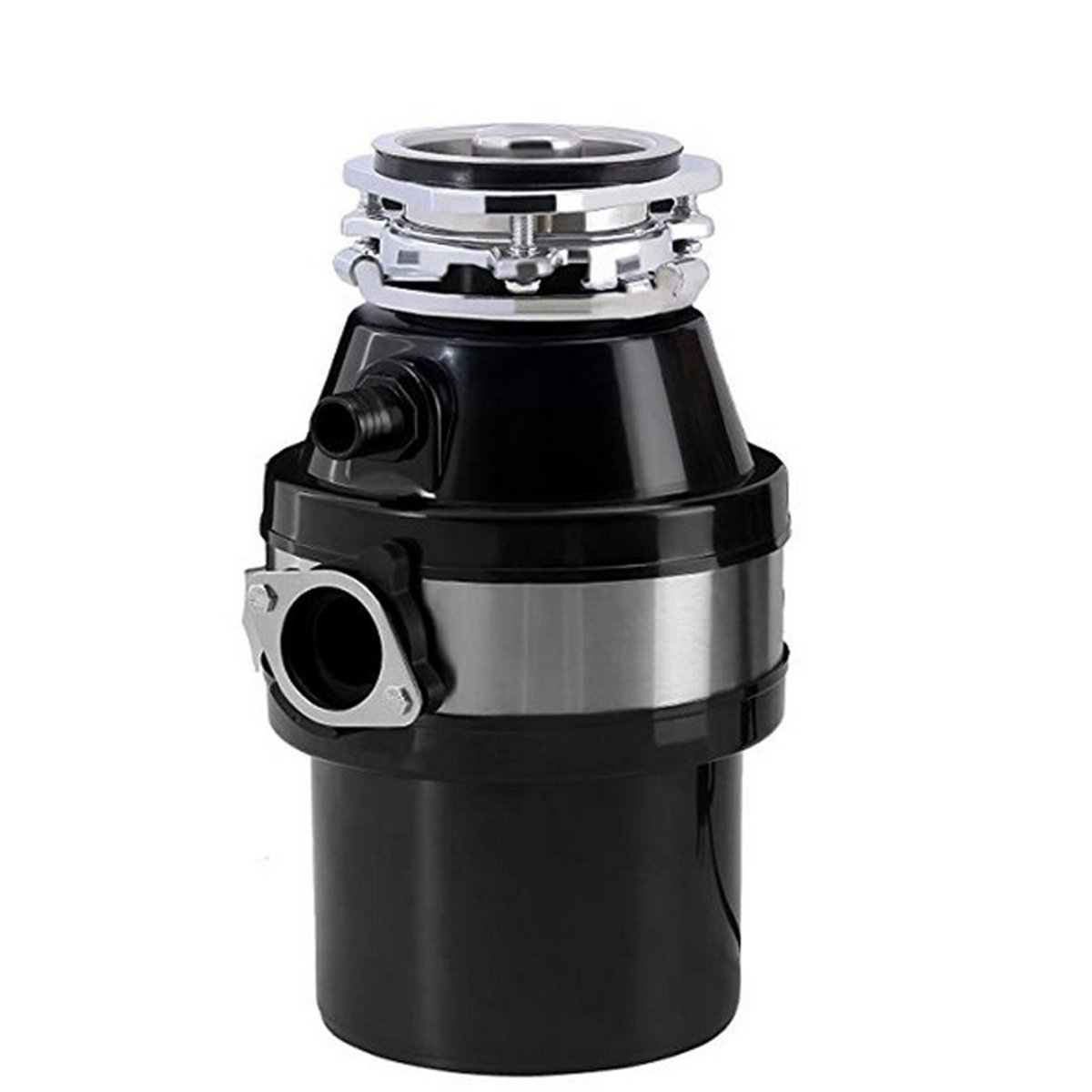 Kitchen Food Garbage Processor Disposal Crusher Good Waste Disposer Stainless Steel Grinder Material Black Or Red US Or EU Plug
