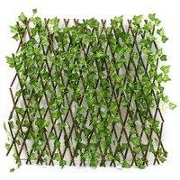 Новое расширение тип строения для сада забор искусственный зеленый ветка с листьями Bucolic Мула чистая деревянные дома ресторанов украшения ...