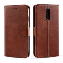 for OnePlus 7 Pro Soft PU Leather Flip Stand Wallet Silicone Case Shockproof Fundas on Oneplus 7 Pro Oneplus 7pro Phone Coque