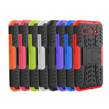 For Huawei Y3 2018 Heavy Duty Armor Shockproof Hybrid Stand Case For Huawei Y3 2017/ Y5 lite 2017 Daul Color Cover Defender