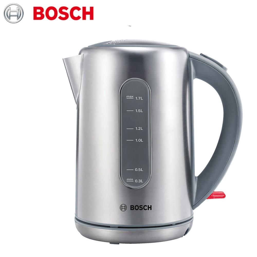 лучшая цена Electric Kettles Bosch TWK7901 home kitchen appliances kettle make tea