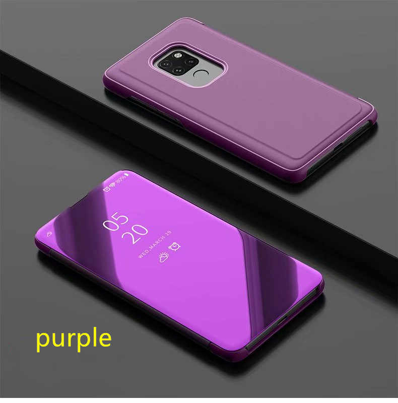 Huawei P Smart Clear View Mirror Case For P8 P9 P10 P20 Lite 2017 Plus For Mate 10 20 lite pro honor 10 9 8 nova 3 3i flip Case