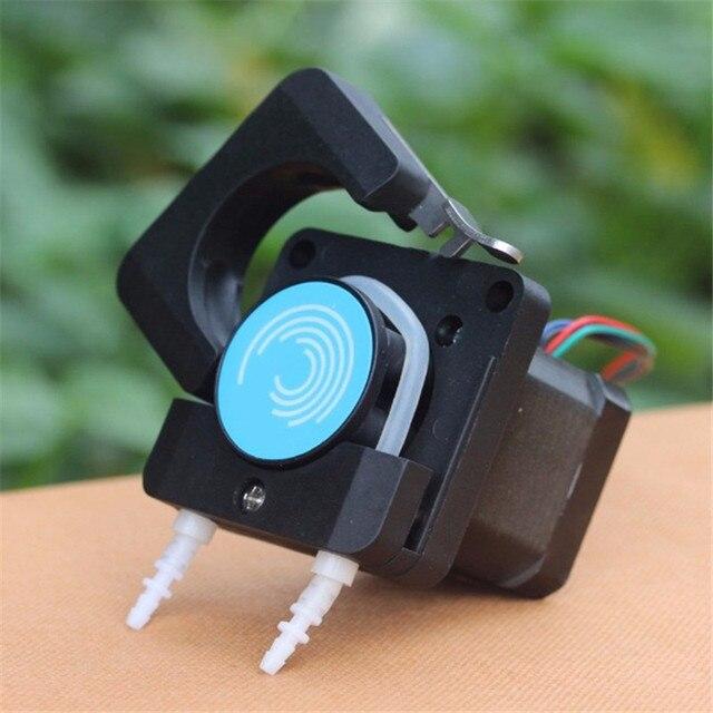 ปั๊ม Peristaltic Pead Dosing ปั๊มหัวท่อท่อปั๊มได้อย่างรวดเร็วขนาดใหญ่ Flow Micro ป้องกันการกัดกร่อน creep ปั๊ม
