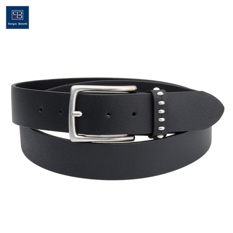 Belt Jean Sergio Belotti 401749/40 Cordoba Nero