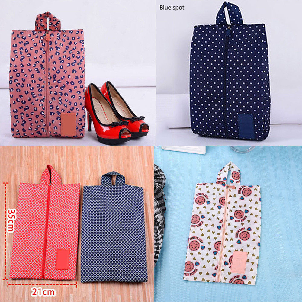 Foldable Storage Bags Shoes Bag Travel Storage Tote Dust Laundry Toiletry Wash Bag Organizer Zip Portable Storage Bag