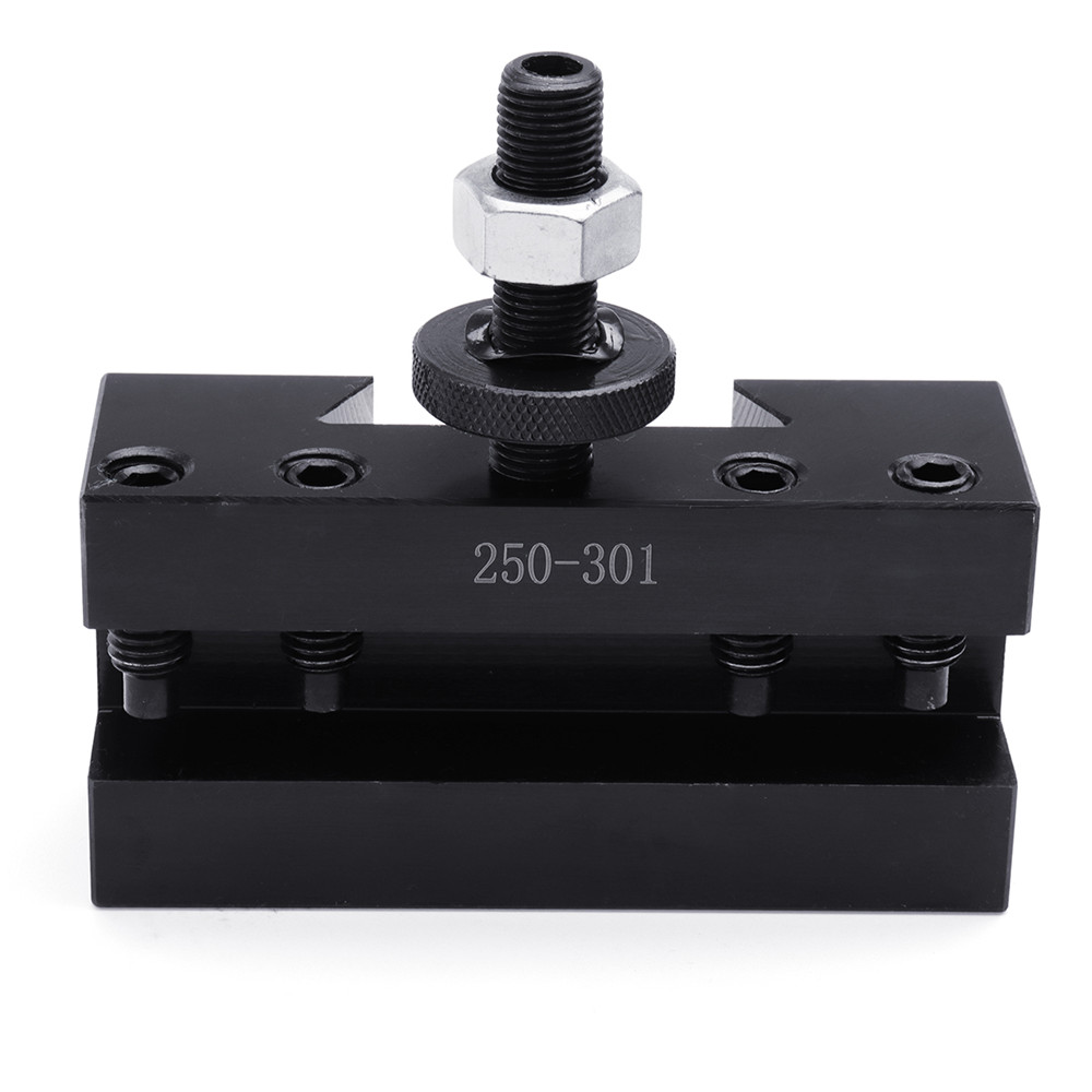 250 301 Quick Change Tool Post And Tool Holder Turning and Facing Holder CNC Lathe Tool